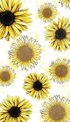 Sunflower obsession wallpaper for your phone, locked wallpaper, lock screen wallpaper, wallpaper s Iphone Wallpaper Herbst, Glitter Wallpaper Iphone, Watercolor Wallpaper Iphone, Cute Wallpaper Backgrounds, Tumblr Wallpaper, Aesthetic Iphone Wallpaper, Screen Wallpaper, Phone Backgrounds, Aesthetic Wallpapers