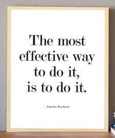 'Effective Way' Print