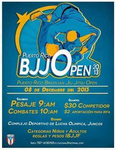 Puerto Rico Brazilian Jiu Jitsu Open 2013 @ Complejo Deportivo Lucha Olímpica, Juncos #sondeaquipr #prbjj #juncos