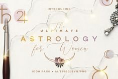 The Ultimate Astrology Icon Pack - Horoscope signs icons and matching glyphs symbols, planets, asteroids, zodiac constellations, aspects etc. made for women Adobe Illustrator, Glyphs Symbols, Astrology Calendar, Icon Collection, Dog Pattern, Instagram Highlight Icons, Icon Pack, Line Icon, Simple Lines