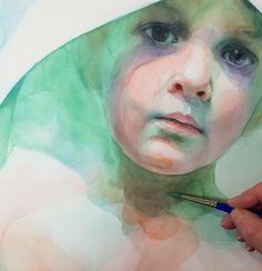 Aquarelle by Ali Cavanaugh