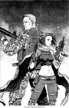 Motoko Kusanagi - Ghost in the Shell Manga Anime, Manga Art, Anime Art, Anime Ghost, Character Art, Character Design, Samurai, Masamune Shirow, Motoko Kusanagi
