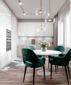 best modern interior for your kitchen - Wohn esszimmer - Design Kitchen Interior, Interior Design Living Room, Interior Decorating, Interior Ideas, Decorating Ideas, Küchen Design, House Design, Design Ideas, Dining Room Design