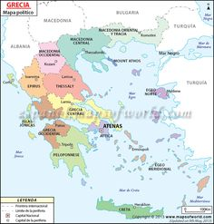 Map of #Greece