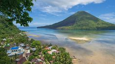 "MALUKU  The volcanic Banda Islands are part of Maluku, historically known as the ""Spice Islands."""