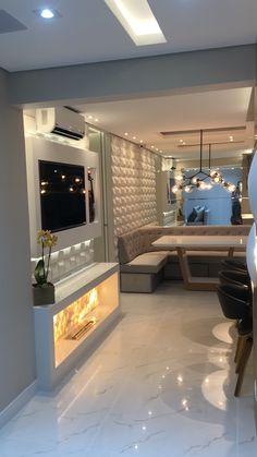Pin by No Decora on Plafon / Ceiling lamp in 2019 House Design, Home Decor Accessories, Room Design, Small Apartments, Condo Design, Home Deco, Home Interior Design, Pinterest Room Decor, Living Room Designs