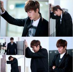 Lee Min Ho breaks down into tears at his locker in still cuts for 'Heirs' | http://www.allkpop.com/article/2013/11/lee-min-ho-breaks-down-into-tears-at-his-locker-in-still-cuts-for-heirs - cant wait for ep 17 now!!!!