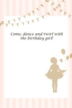 I made a few printables for Olivia's Ballerina Party and thought I'd share them. You can download them following the link below each pictur...