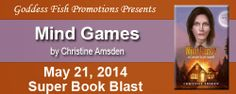 Super Book Blast Tour for Mind Games by Christine Amsden + 100 Amazon GC Giveaway
