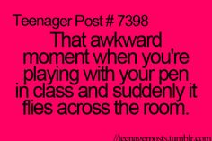 Haha this has actually happened to me too