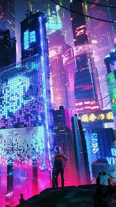 Neon city wallpaper by Aneek004 - dffa - Free on ZEDGE™