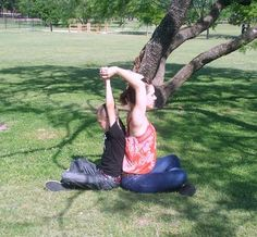 Open Your Heart: Partner Yoga With Your Kids
