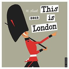 This is London Wall Calendar 2015