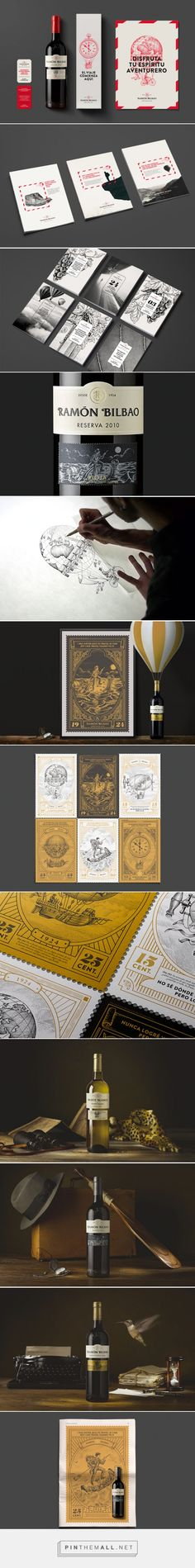 The Taste of Adventure #wine #packaging designed by Interbrand - http://www.packagingoftheworld.com/2015/05/the-taste-of-adventure.html