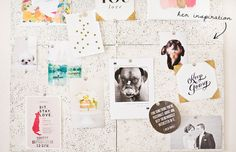 Sarah Dickerson Home Office Tour // inspiration board // photogtphy by @Sarah {Chic Sprinkles}