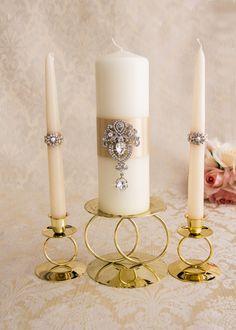 Champagne unidad velas boda unidad velas ceremonia por BridalQueen