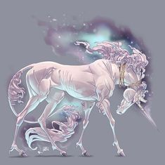 Clone army by on DeviantArt Mythical Creatures Art, Mythological Creatures, Magical Creatures, Unicorn Fantasy, Unicorn Art, Dark Fantasy Art, Fantasy Artwork, Horse Drawings, Animal Drawings