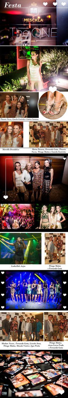 Semana passada a Mesckla, loja super bacana de Salvador, promoveu uma festa que parou a cidade: Mesckla The One. Uma festa que reuniu os estilistas mais bacanas, varias blogueiras do Brasil todo (u…