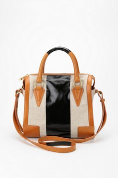 Urban Outfitters - Pour La Victoire Two-Tone Verona Bowler Bag $328