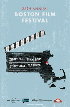 Boston Film Festival : Poster - RyanFrease.com