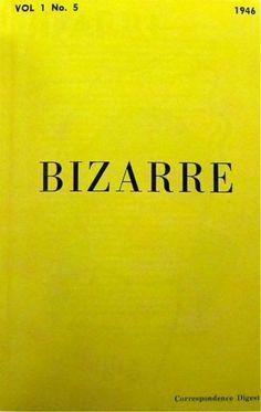 bizarre magazine, 1946