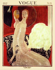 petitpoulailler:  sydneyflapper: October 1922Vogue cover