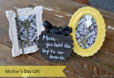 mycreativedays: Mom, You Hold The Key To My Heart: Mother's Day Gift
