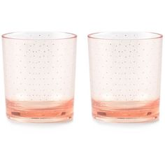 kate spade new york Patio Floral Blush Acrylic Glasses (1.685 RUB) ❤ liked on Polyvore featuring home, kitchen & dining, drinkware, pink, kate spade glasses, kate spade and acrylic drinkware