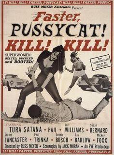 """『ファスタープッシーキャット キル!キル!』/【FASTER PUSSYCAT KILL! KILL!】/(1965)モンド/アクション - ホラー映画、B級映画、アクション映画、カルト映画 を""""無料動画""""""""youtube""""""""ユーチューブ""""で配信中!"""