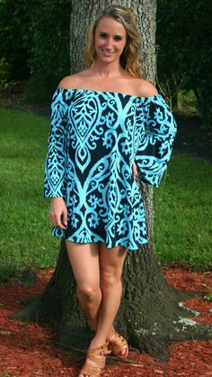 fbf970e38a1063 Call Me Sassy Mint Green   Black Dress. Bell Sleeve ...