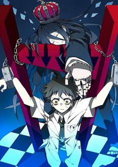 Super Dangan Ronpa 2 - Hajime Hinata and Izuru Kamukura