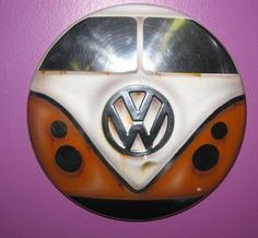 VW, Volkswagen Hubcap / Hubcaps UNIQUE Airbrush Design