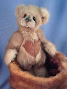 Custom Mink Heirloom Teddy Service from your mink stole