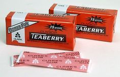 I always enjoyed Teaberry Gum.
