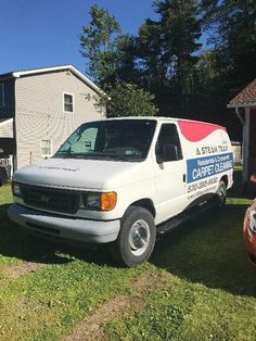 2007 Prochem Peak 1185 hours in 2006 Ford E250 Exc : Used Carpet Cleaning Vans How