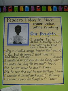 The Teaching Thief: Great anchor chart and lesson...also has Favorite Picture Books for Teaching Comprehension