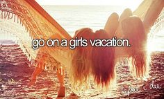 Go on a girls vacation with my BFF. Best Friend Bucket List, Bucket List Life, Summer Bucket Lists, Bucket List For Girls, 2017 Goals Bucket Lists, Bucket List Tumblr, Fun Bucket, Life List, Bucket List Before I Die