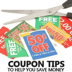 5 Coupon Tips to Help You Save Money: Combine BOGO sales with BOGO coupons; Check the clearance rack / shelf; Check the trial section; Stack your coupons; Watch the screen. Source: MrsJanuary.com