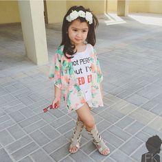 Meninas estilosas do Instagram Looks fofos Infantil Feminino Boho Casual  Chic  boho  baby  girl c1cf9b120fd