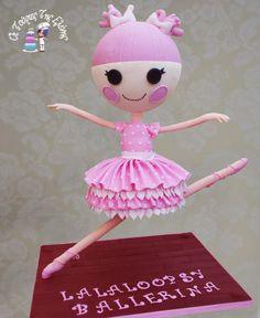 Lalaloopsy Ballerina - Cake by moustoula eleni (Οι Τούρτες Της Ελένης)