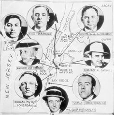 Bootlegging territories NY/NJ Map