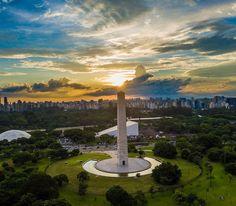 Obelisco do Ibirapuera by @do.alto #saopaulocity #obelisco by saopaulocity