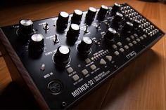 Moog Semi-Modular Eurorack Analog Synthesizer and Step Sequencer Studio Equipment, Studio Gear, Recording Equipment, Drum Machine, Electronic Media, Lab, Instruments, Guitar, Rustic