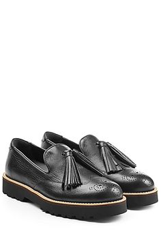 Hogan - Leather Loafers | STYLEBOP.com