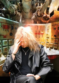 Arjen Lucassen, the creator of Ayreon. Another band that cant be explained in words, you need to listen it.