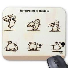 """Mousepad """"Metamorfose de um anjo"""""""
