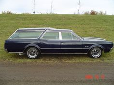 Oldsmobile Vista Cruiser station wagon.   The family car when I was a kid.