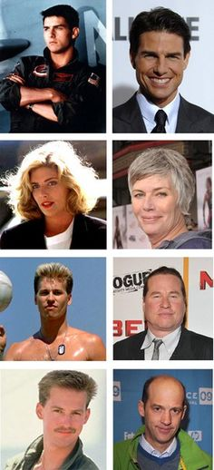 What the hell happened to them? Tom has a more mature look, Kelly is gay so hell with looking hot for a man. the others went bald and gained lots of weight. What would happen if they did a sequel to Top Gun? Well, guns are on the outs of political correctness so I guess it would have to be Top Drone and Maverick and Kelly would be behind a computer making moves to kill americans without just cause.