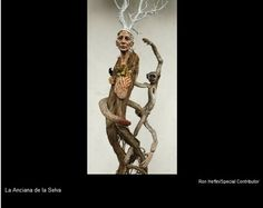 La Anciana de la Salva by Kathy Boorst mixed media