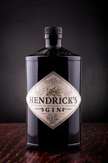 Love this beautiful bottle of Hendrick's Gin.